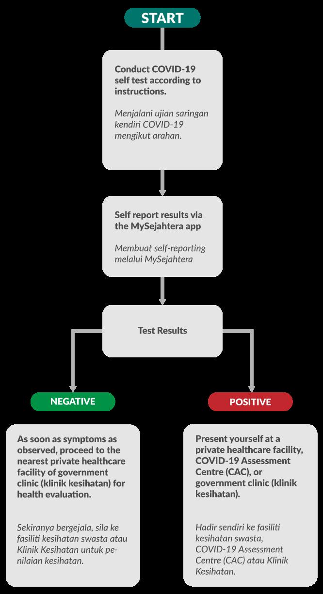 Self Test Flow Chart